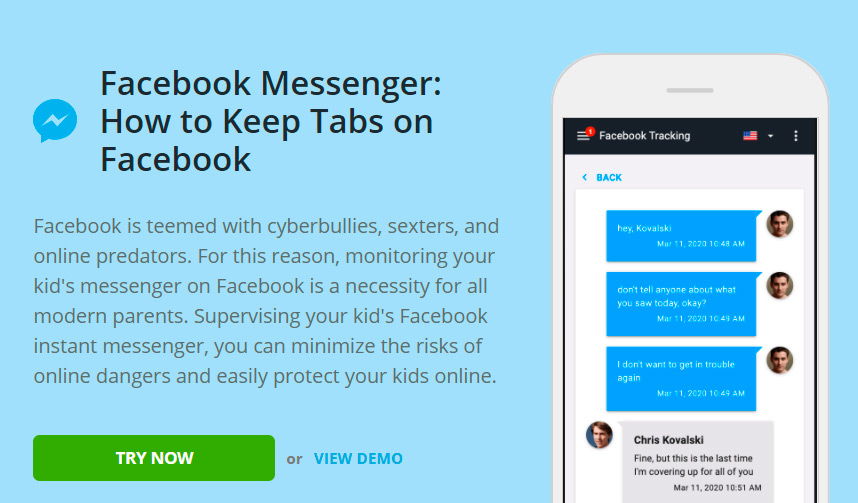 Free facebook messenger spy