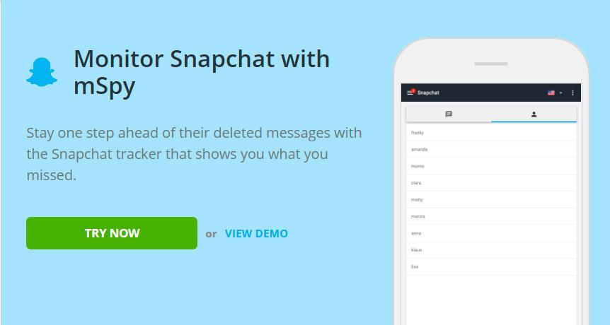 Track snapchat username